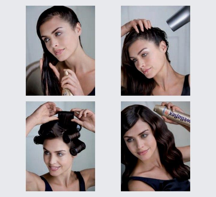 Die Behandlung des Haares im Salon es
