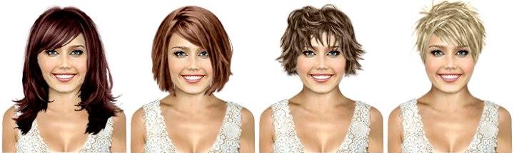 Kostenlos haarfarben test eigenem bild VIRTUALHAIR