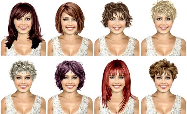 Test eigenem kostenlos haarfarben bild Gratis Frisuren