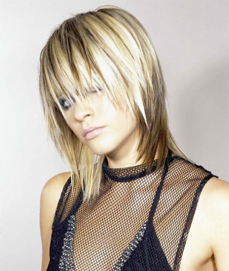Frisuren kurz blond mit strahnen