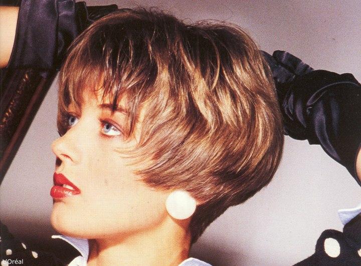 Короткие стрижки 80-х годов