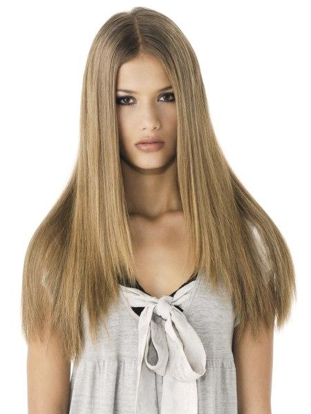 Frisuren fur lange naturgelockte haare