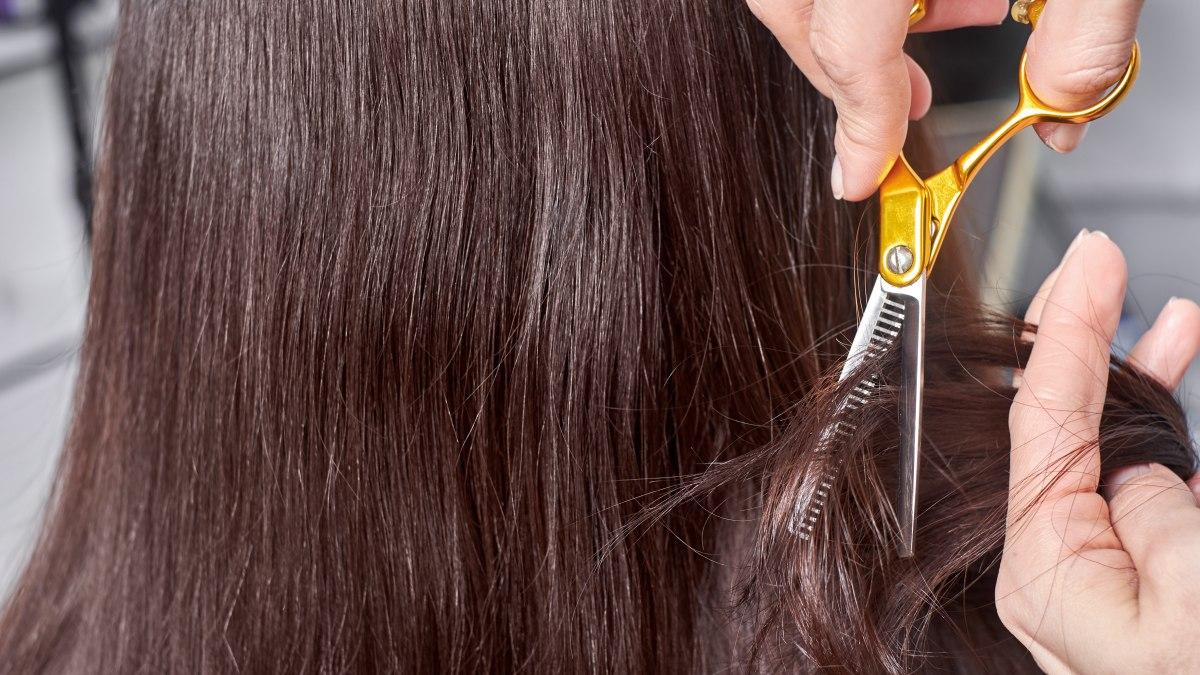 Haare ausdünnen lange Ausdünnung Ihres