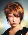 Frisuren Mittellang Zweifarbig | trendige kurzhaarfrisuren